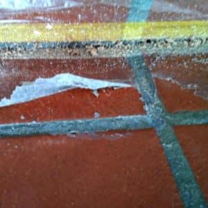 Glänzer Schichten entfernen mit Wax