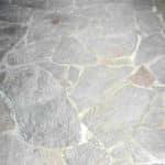 Porphyr starke Zementablagerung
